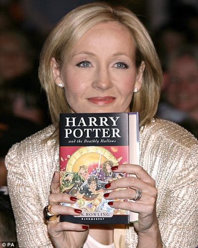 the writer of harry potter
